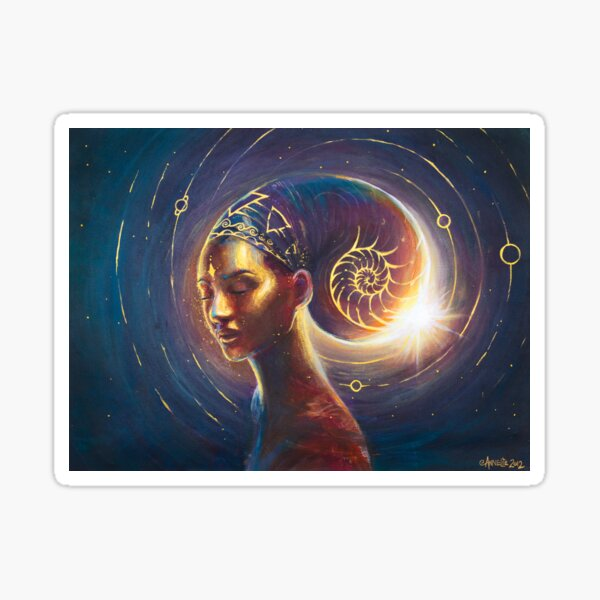 Feminine Divine/Celestial Empress Sticker