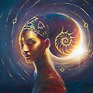 Feminine Divine/Celestial Empress by Annelie Solis