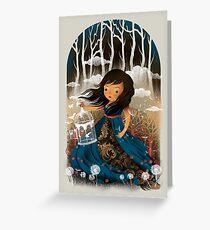 Whimsical Girl Greeting Card
