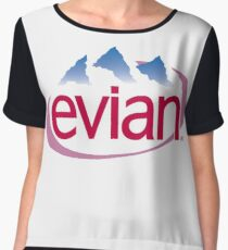 Evian Aesthetic Chiffon Top