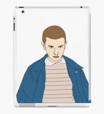 Eleven, LineArt iPad Case/Skin