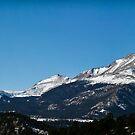 Rocky Mountain Range by Rase Littlefield