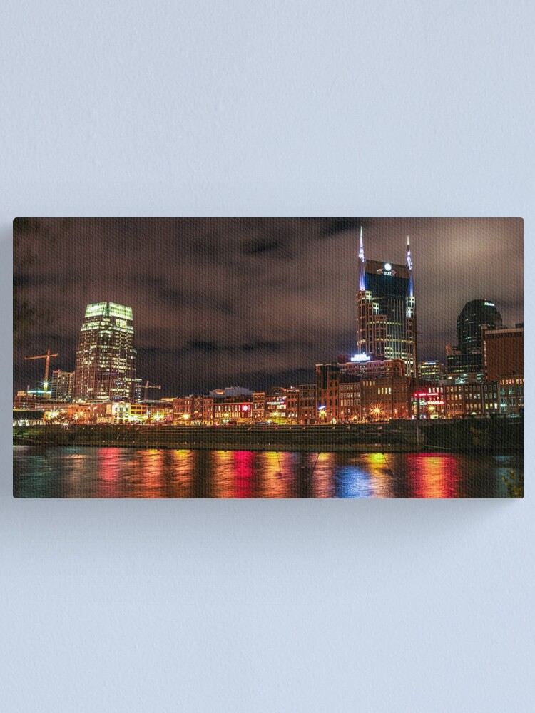 Alternate view of Nashville Canvas Print