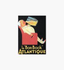 Vintage Beer Poster Art Board