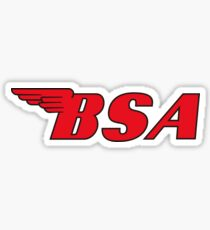 BSA Motorcycles Sticker