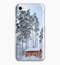 4.2.2015: Small and Abandoned Sauna III iPhone Case/Skin