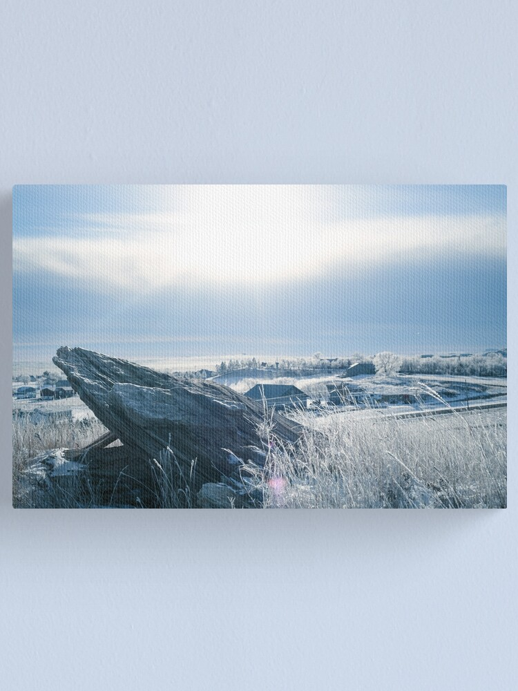 Alternate view of Montana for miles Canvas Print