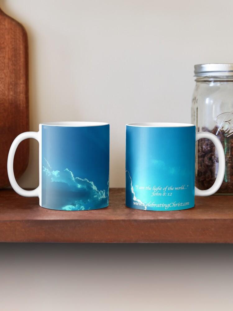 Alternate view of Celebrating Christ Silver Lining Mug - From ccnow.info Mug