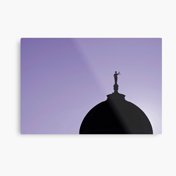 County Court House Metal Print