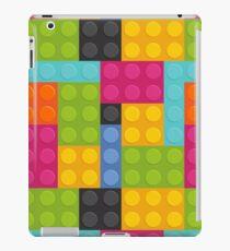 pink building blocks iPad Case/Skin