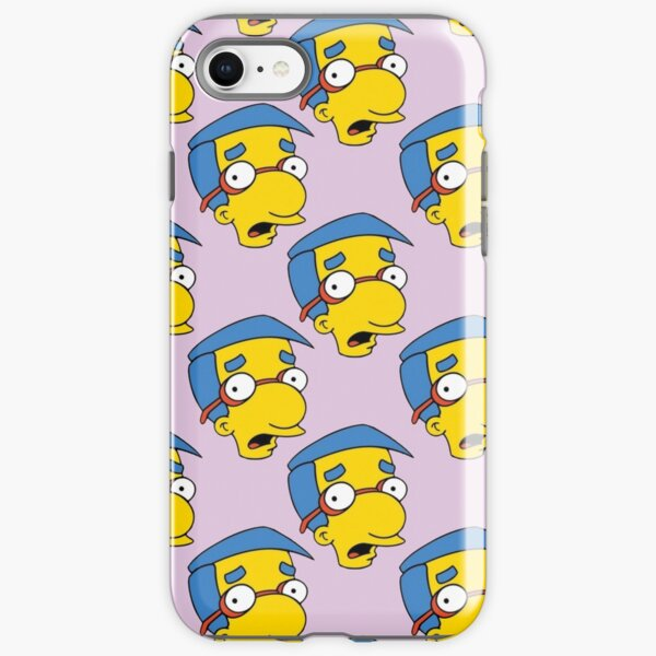 Milhouse On Pink iPhone Tough Case