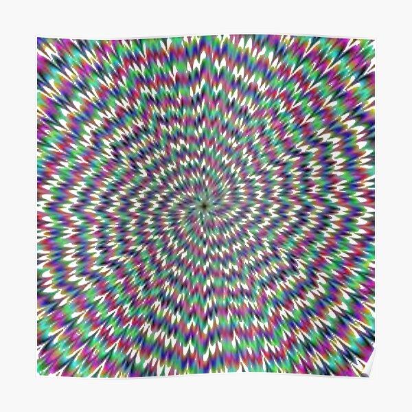 Optical Illusion, delusion, fantasy, hallucination, phantasm, phantom, ghost, specter Poster