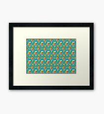 Seek Magic pattern Framed Print