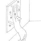 Arty Cat by Linda Ursin