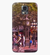 Vancouver Gastown Steam Clock C Hülle & Klebefolie für Samsung Galaxy