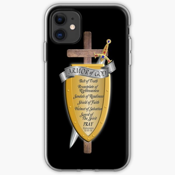 Armor of God for God's Army iPhone Soft Case