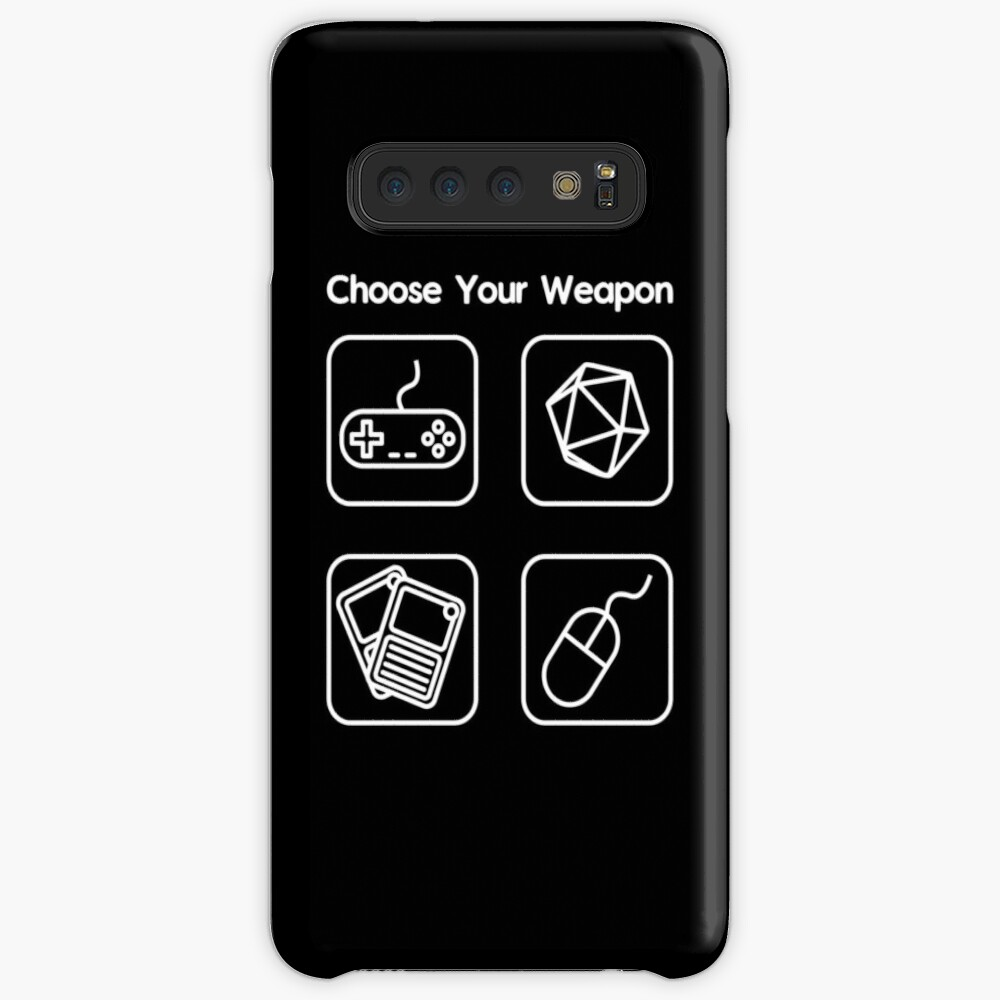 Choose Your Weapon Case & Skin for Samsung Galaxy