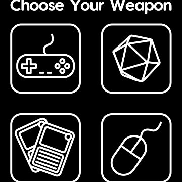 Choose Your Weapon by technoangelart