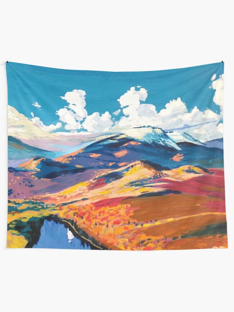 Alternate view of Adirondacks Tapestry