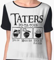 Taters Chiffon Top
