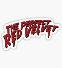 The Perfect Red Velvet Sticker