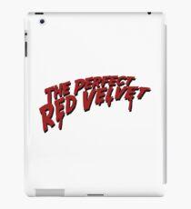 The Perfect Red Velvet iPad Case/Skin