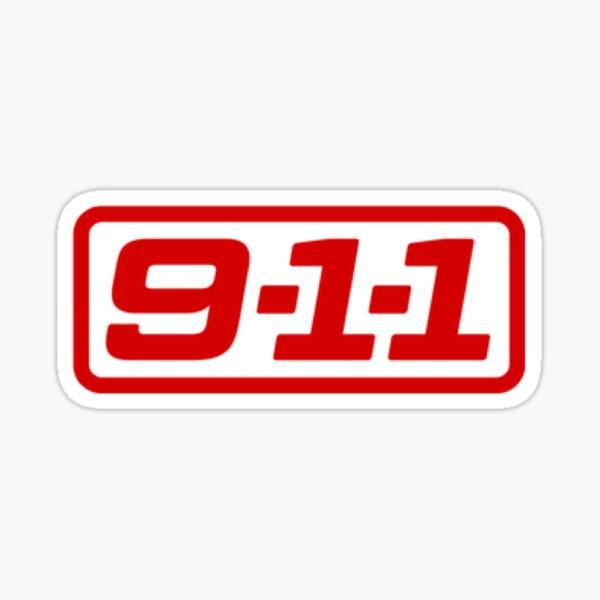 911 Sticker Sticker