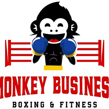 Monkey Business Boxing Schwag by luckypunch