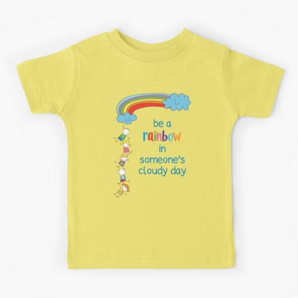 Be a Rainbow - Kindness & Friendship Kids T-Shirt