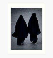 Yemeni Women - Yemen Art Print