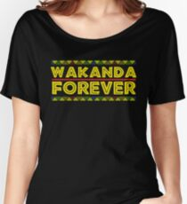 Black History Month  Wakanda Forever TShirt Women's Relaxed Fit T-Shirt