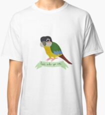 Motivational Parrots - Love Who You Are Classic T-Shirt