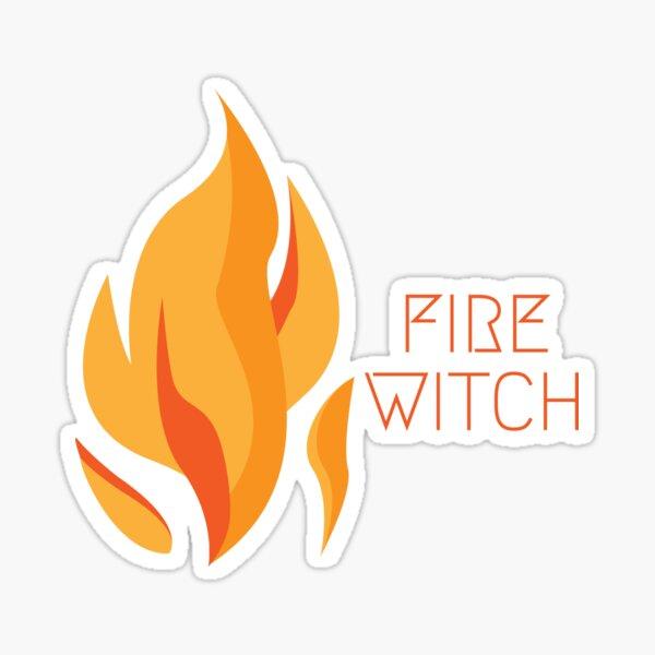 Fire Witch Sticker