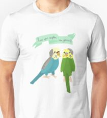 Motivational Parrots - Love Your Neighbor As Yourself  Unisex T-Shirt