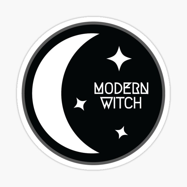 Modern Witch 2 Sticker