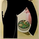 Vintage French Cheese Poster by mindydidit
