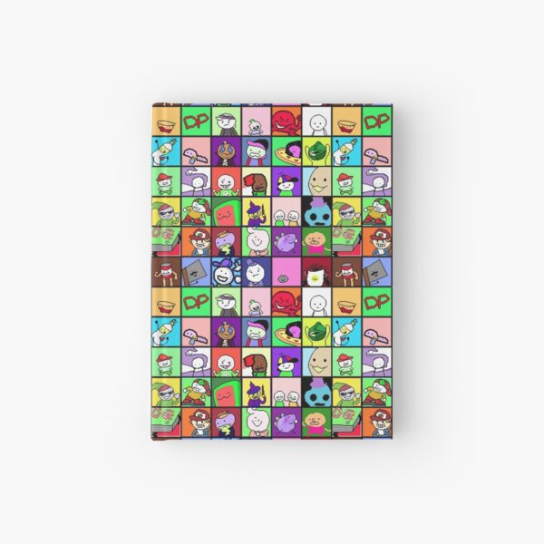 Boy grid Hardcover Journal