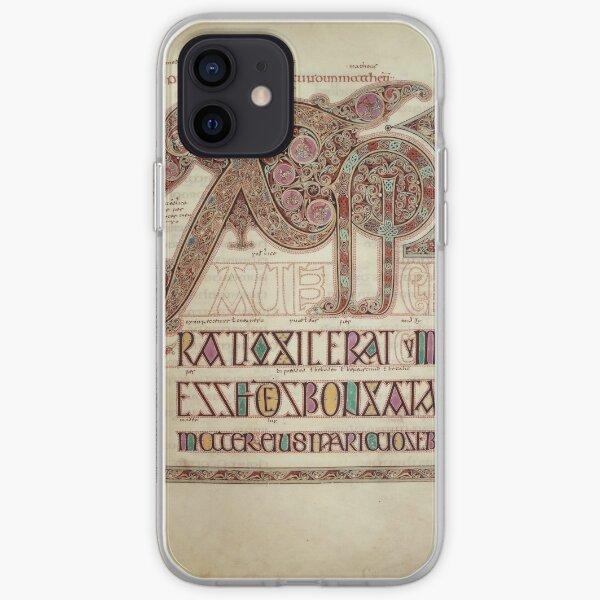 Lindisfarne Gospels Chi Rho iPhone Soft Case