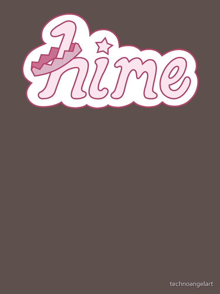 Hime by technoangelart