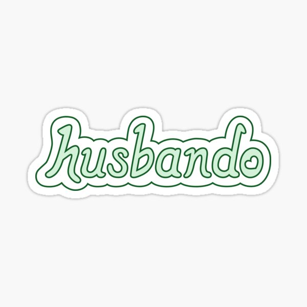 Husbando Sticker
