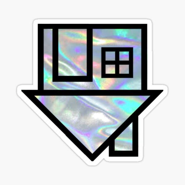 nbhd holo logo Pegatina