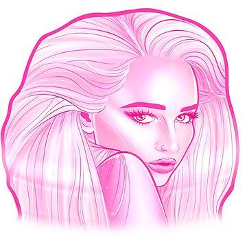 Kim Petras Pink design by idledraw