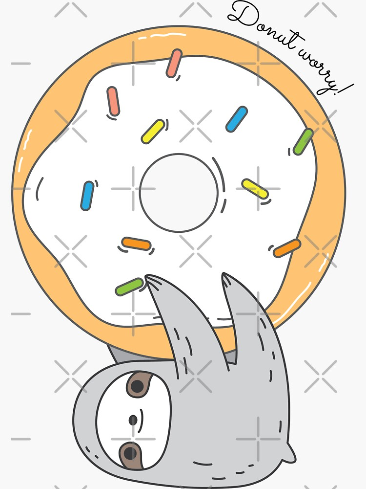 Donut Sloth by Miri-Noristudio