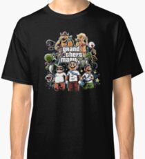 Grand Theft Mario Classic T-Shirt