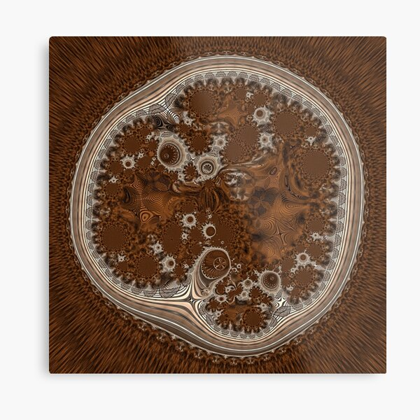 Cellular Machinery Metal Print