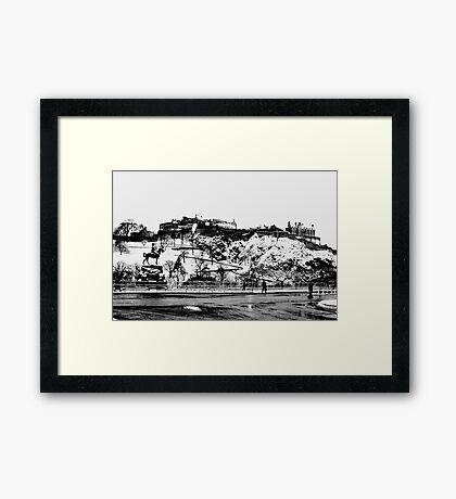 EDINBURGH CASTLE II Framed Print
