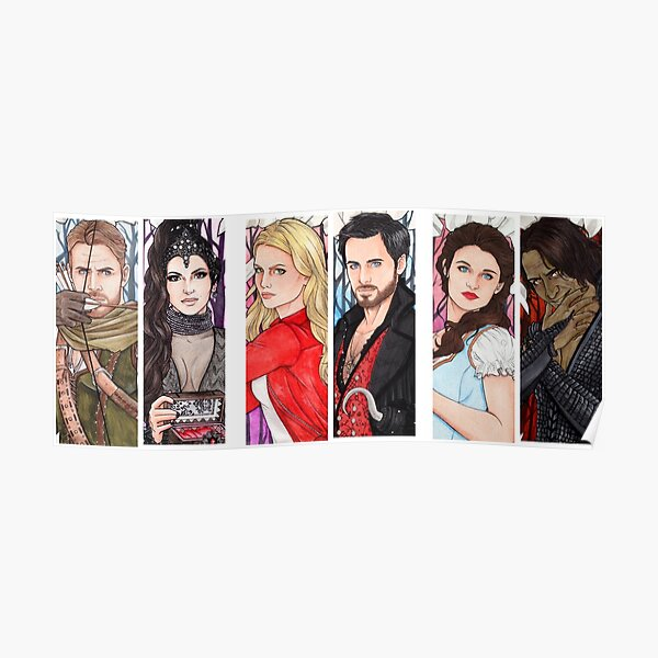 OUAT Couples OL CS RB Poster