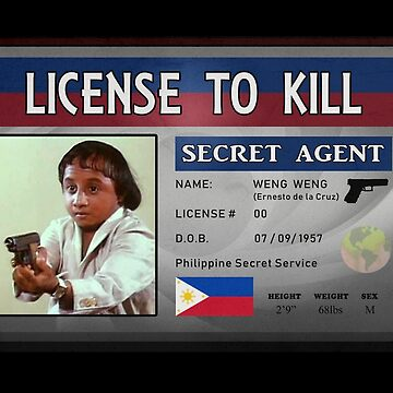 Agent 00 - License To Kill by bestofbad