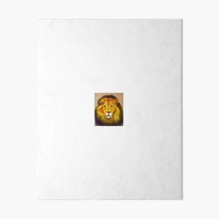 Aslan Art Board Print