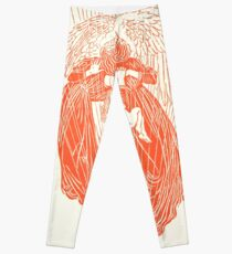 Engel, Vintage alte Buchillustration Leggings